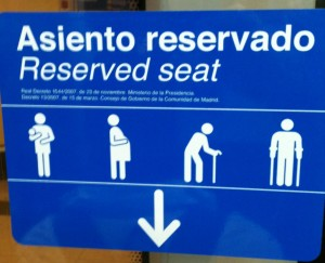 asiento reservado
