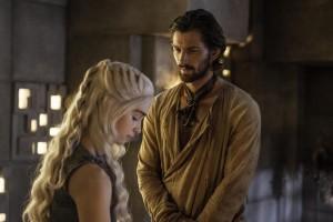 Daenerys y Daario Naharis