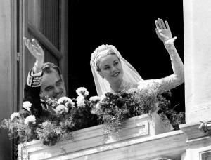 Boda de Grace Kelly y Raniero de Monaco