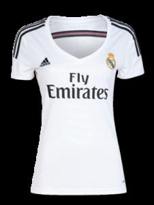 Camiseta de mujer del Real Madrid