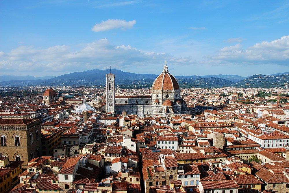 Vista panorámica desde el Palazzo Vecchio