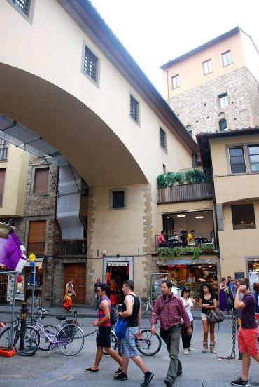 Una calle de Florencia