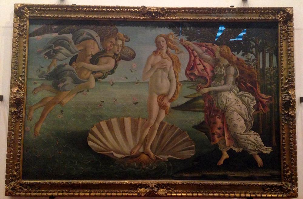 La Venus de Boticelli