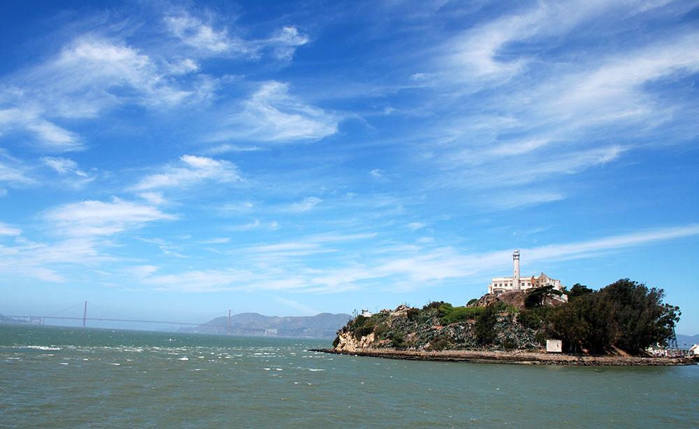 Alcatraz y el Golden Gate