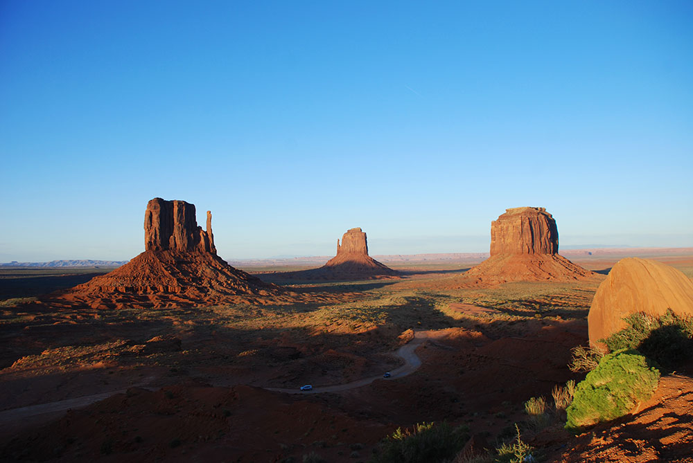 Atardecer en Monument Valley, Utah