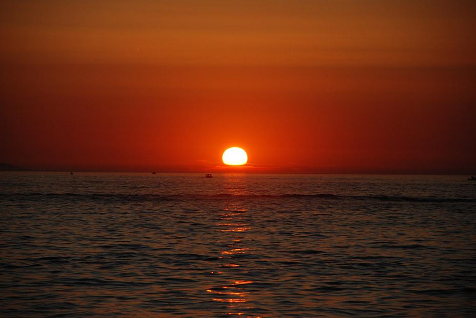 Puesta de sol en Zadar