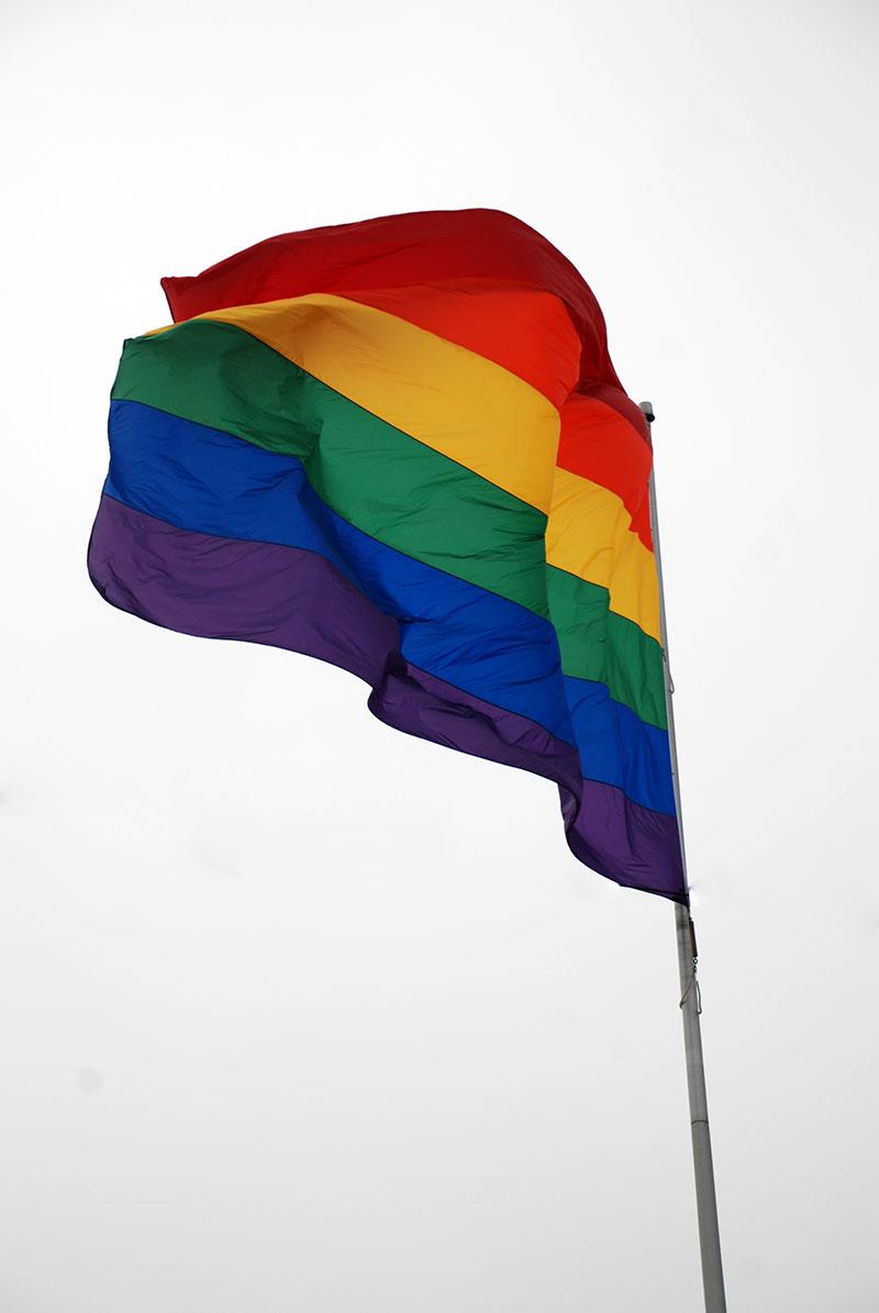 Bandera gay en el Castro