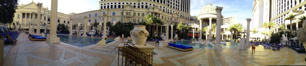 Piscina del Caesars Palace Hotel