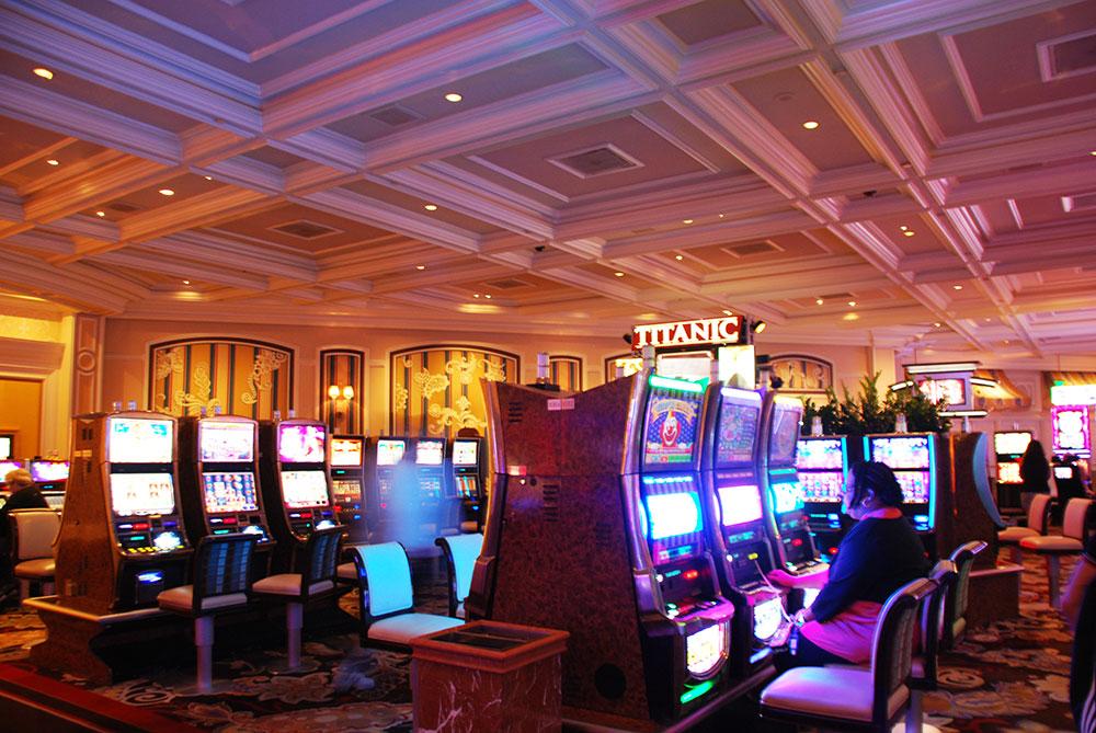 Un casino en Las Vegas