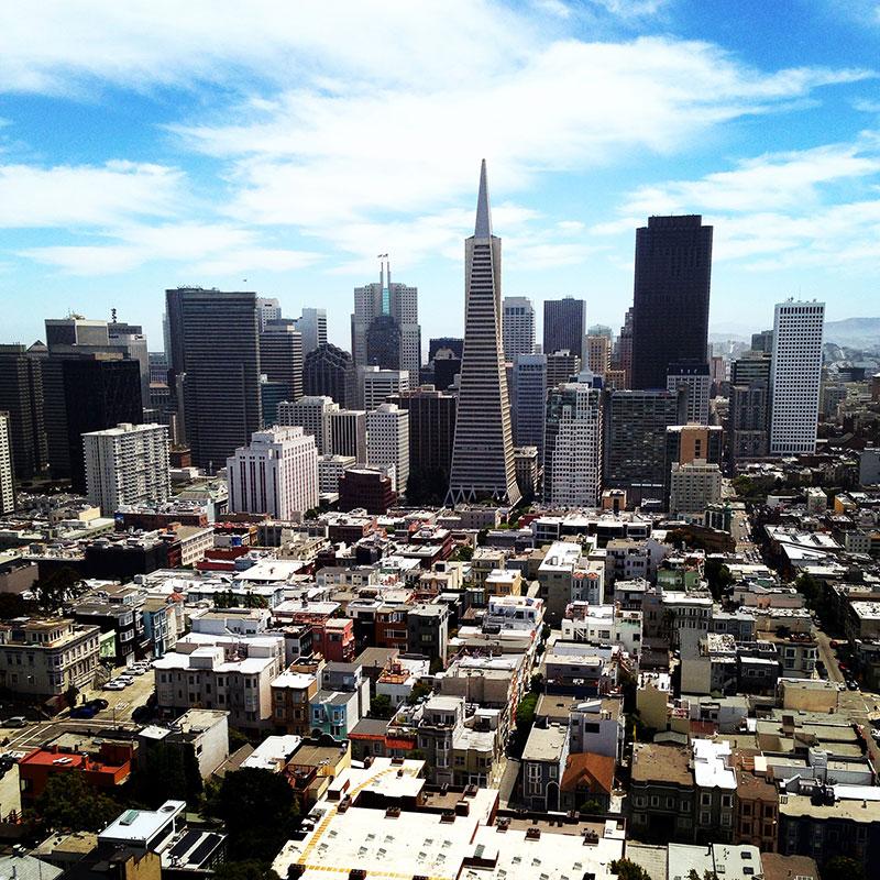 Vista aérea del Downtown