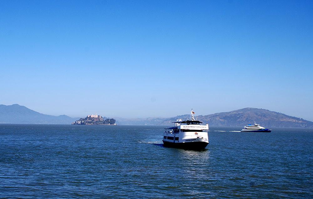Crucero hacia Alcatraz