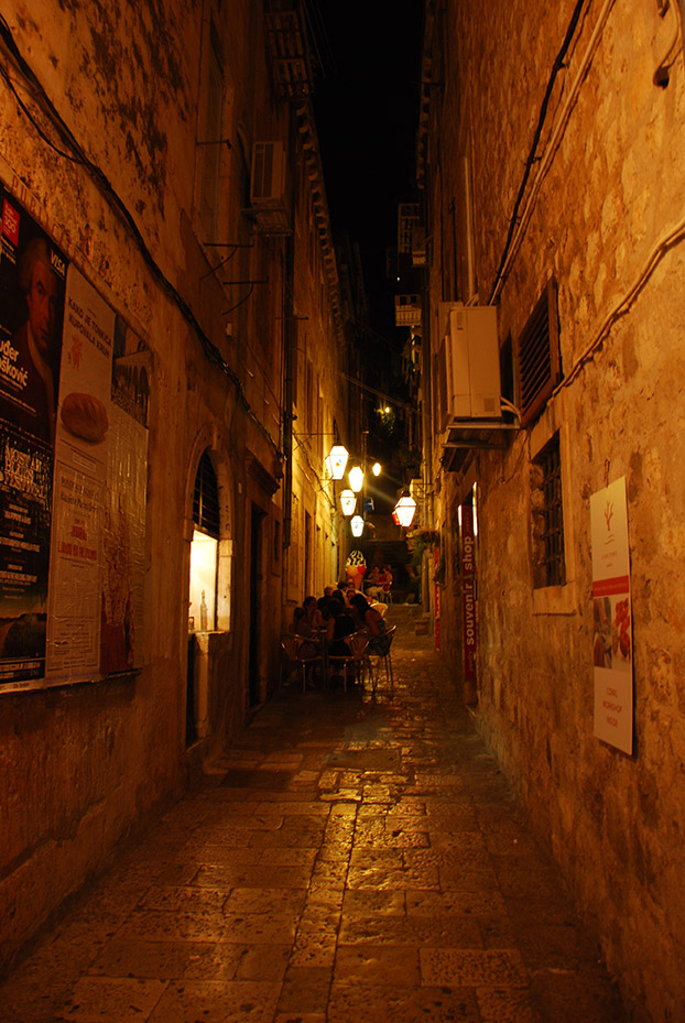 Noche en Dubrovnik