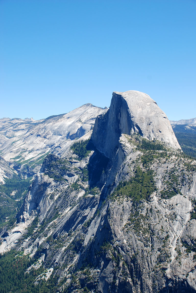 Half Dome desde Glacier Point