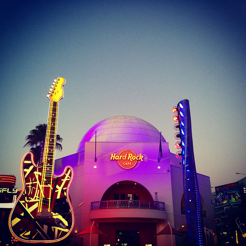 Hard Rock en el City Walk