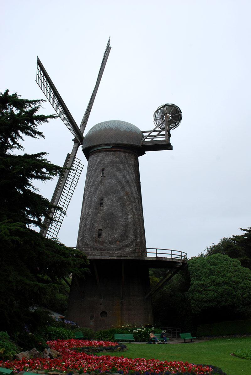 Un molino en Lands End