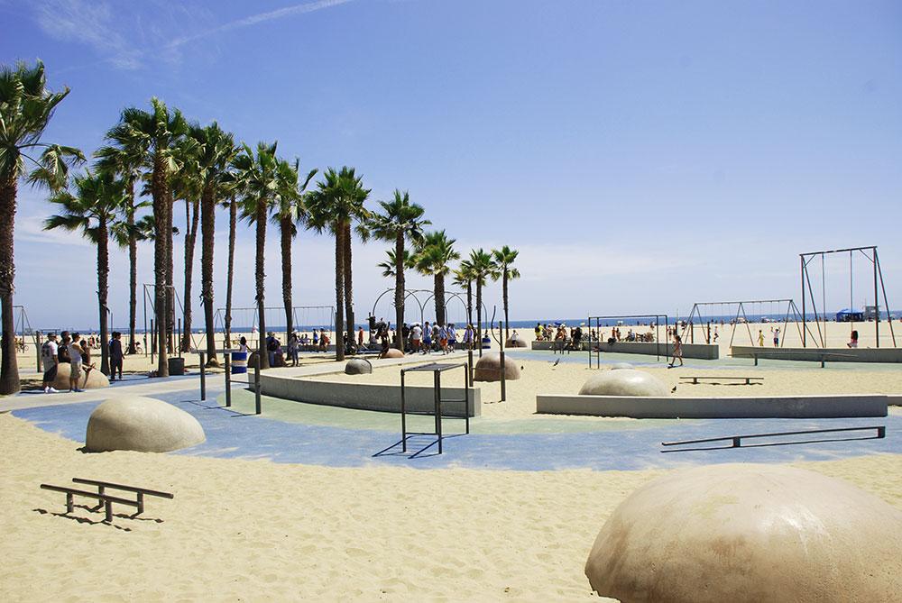 Muscle Beach, LA