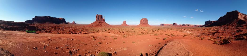 Panorámica de Monument Valley