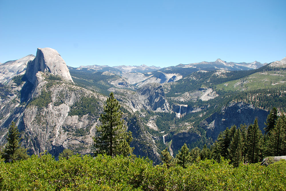 Vistas desde el Glacier Point