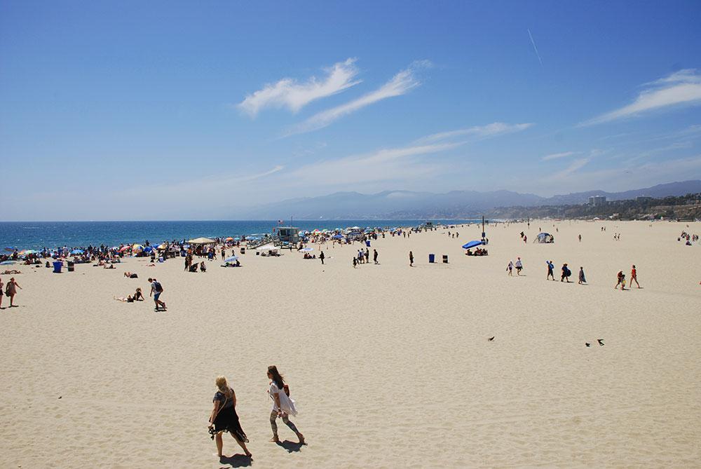 Playa de Santa Mónica, LA