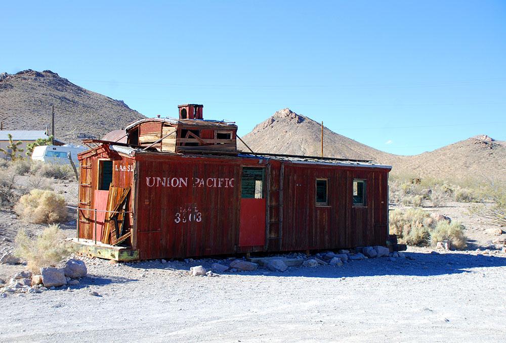 Rhyolite, Pueblo Fantasma