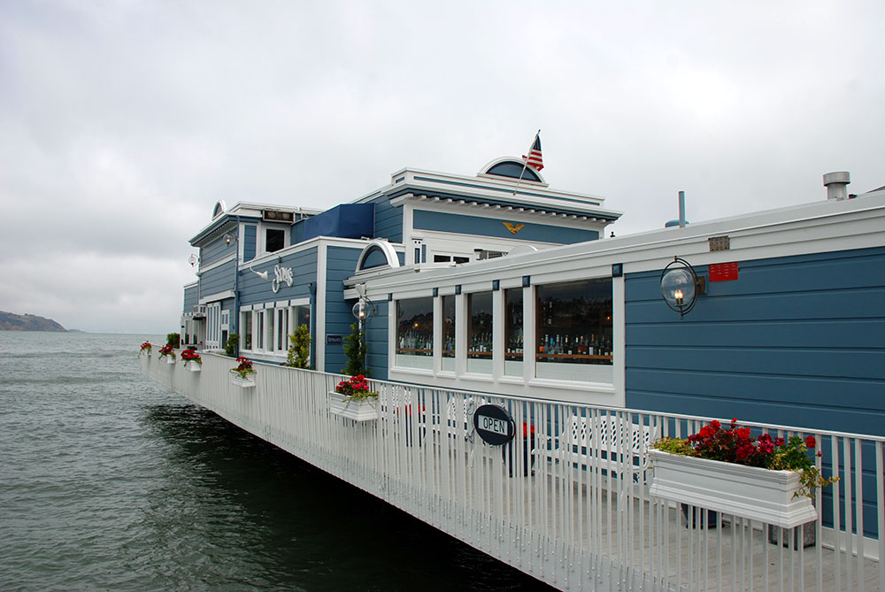 Un restaurante flotante