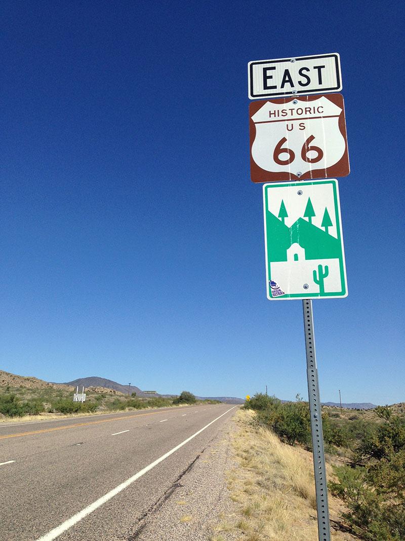 Señal Ruta 66