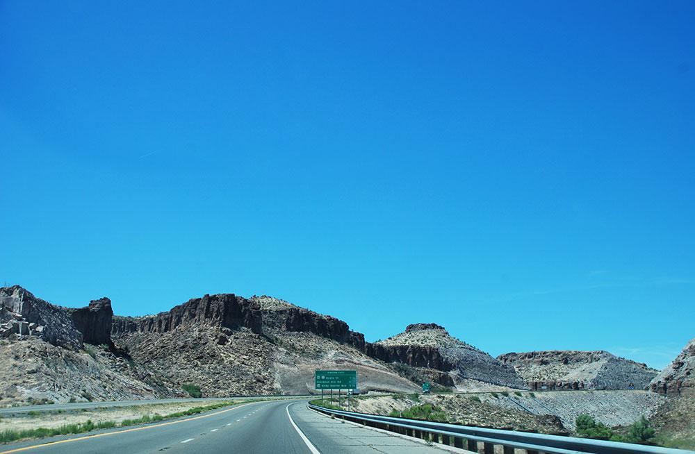 Una recta de la Ruta 66