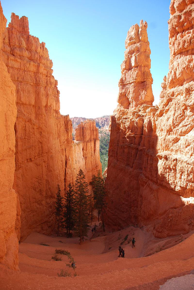 Camino de subida, Bryce Canyon