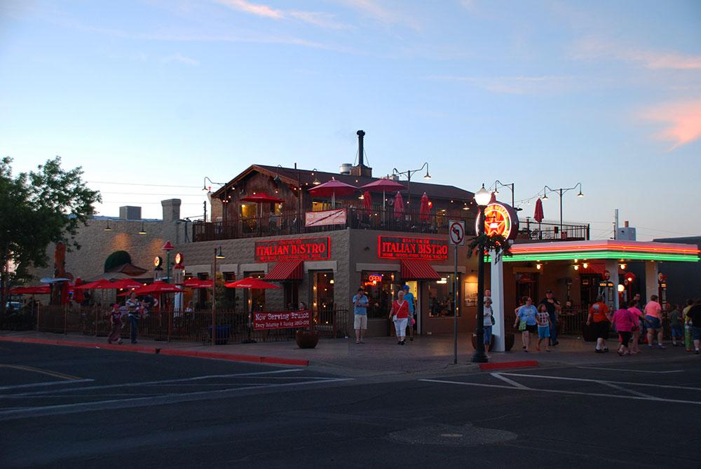 Un restaurante en Williams