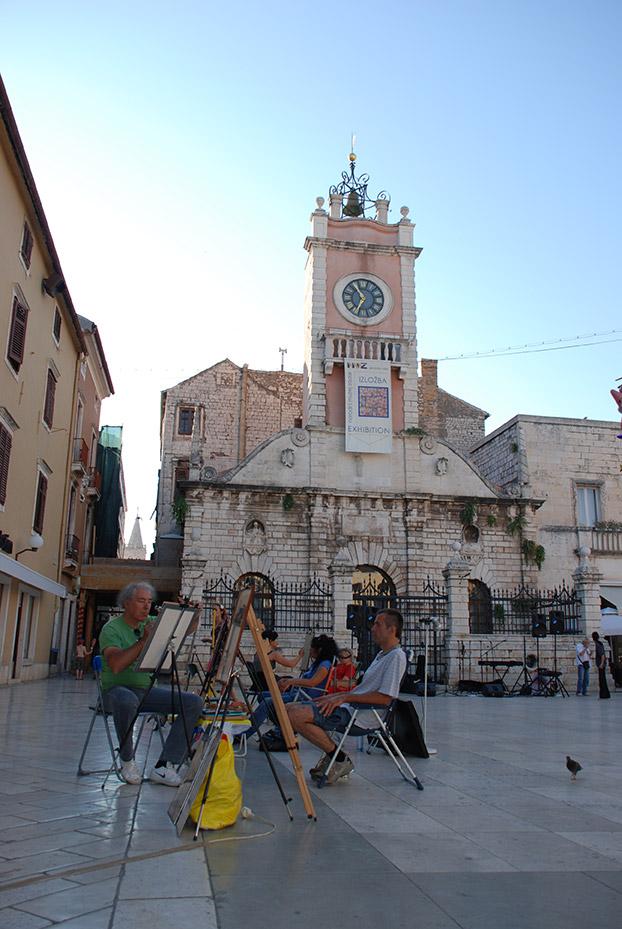 Retratista en Zadar