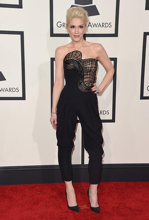 Gwen Stefani con su mejor look