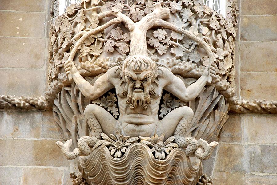 Detalle Palacio de Sintra