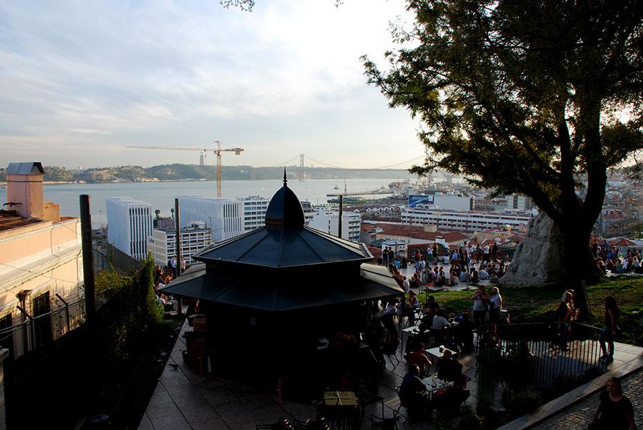 Terrazas en Lisboa