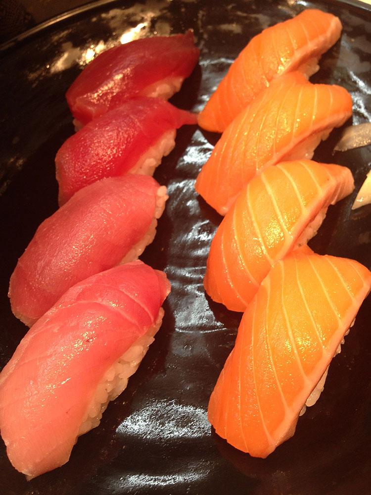 sushi puerto de Tokio