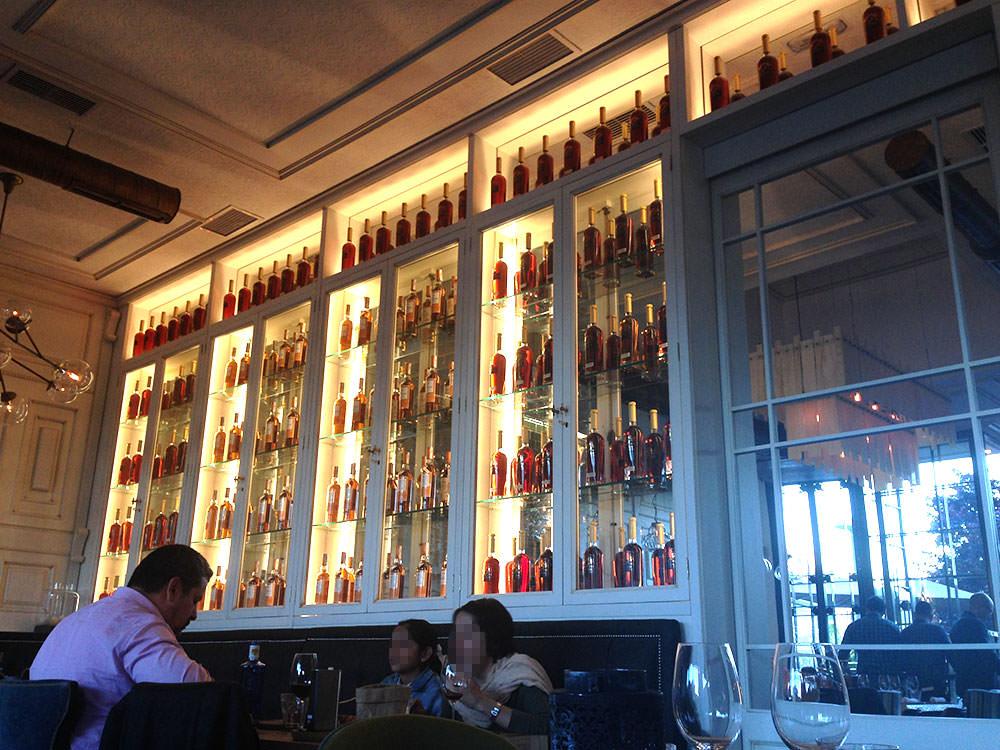 interior restaurante la canica