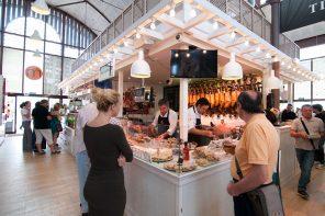 ¿En qué se parecen el Mercado de la Lonja del Barranco de Sevilla y el Mercado de San Antón de Madrid?