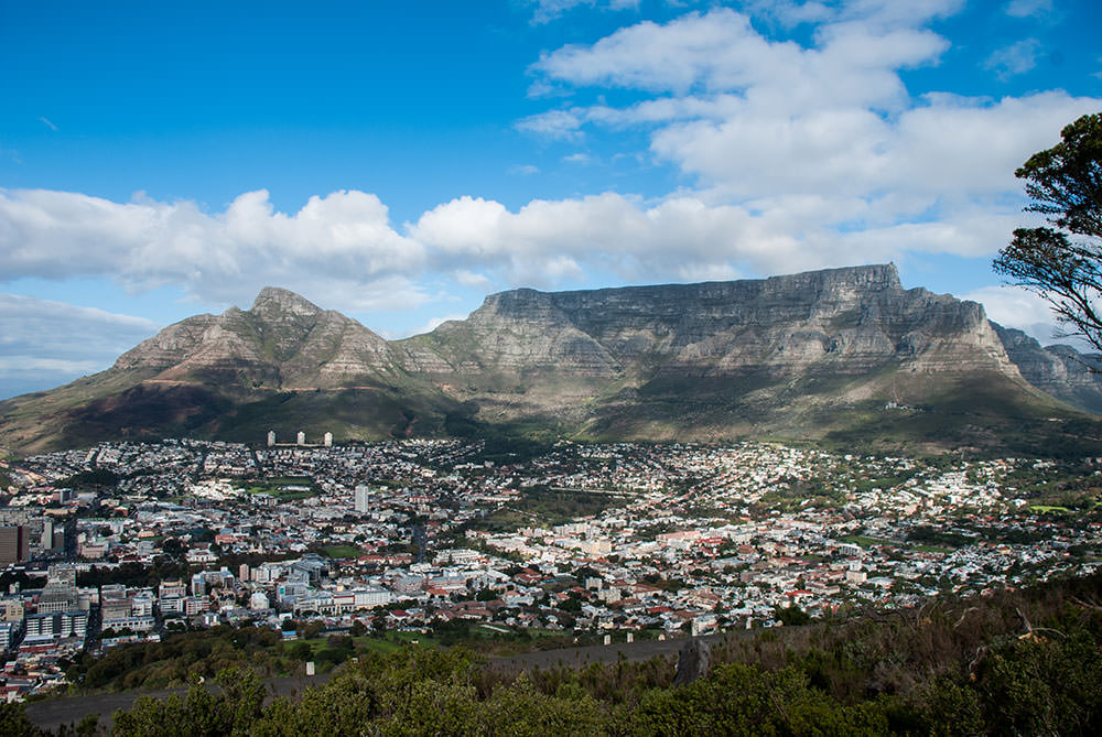 vistas table mountain