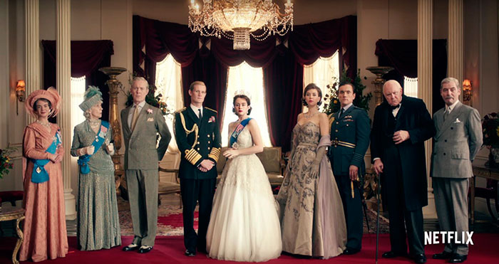 personajes the crown