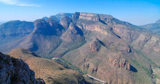 Three Rondavels del Cañón del Río Blyde
