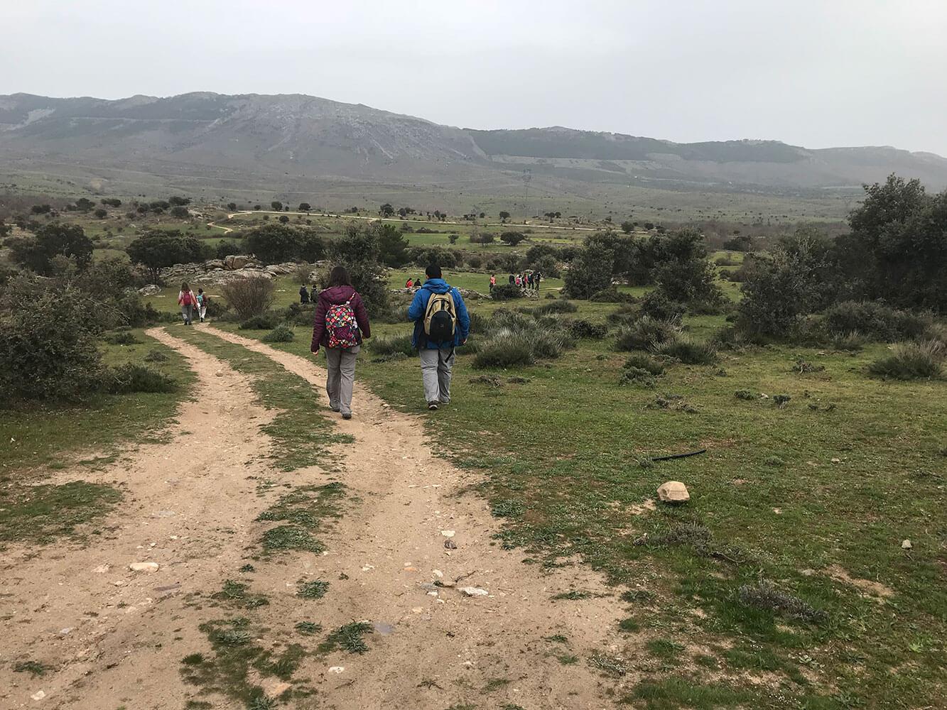 trekking madrid