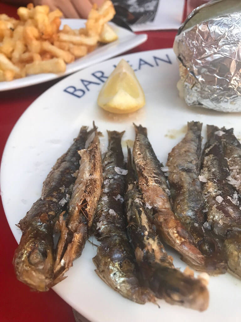 donde comer biarritz