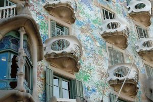 balcones casa batllo