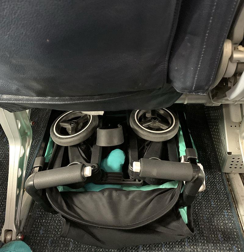 carrito viaje avion