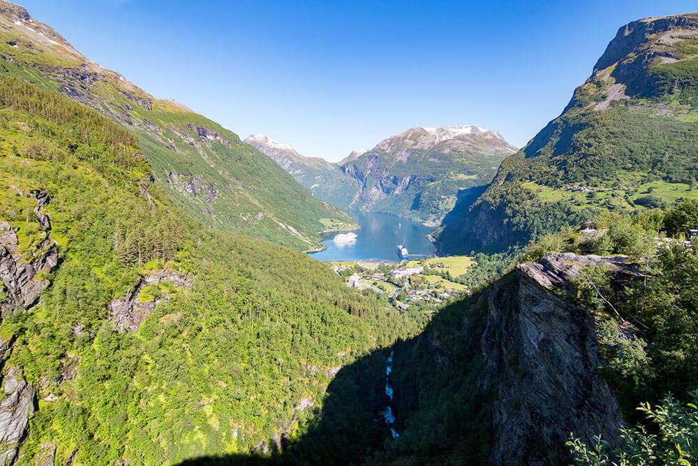 Geiranger en Noruega