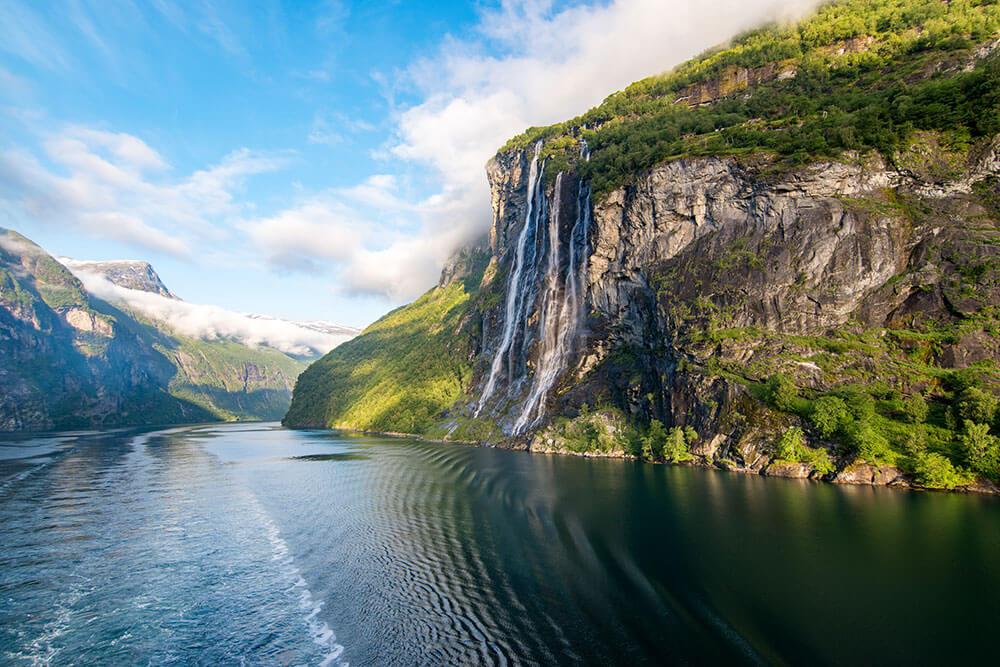 cascada noruega