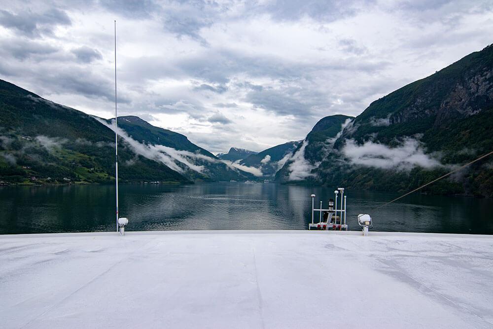 crucero por los fiordos en noruega