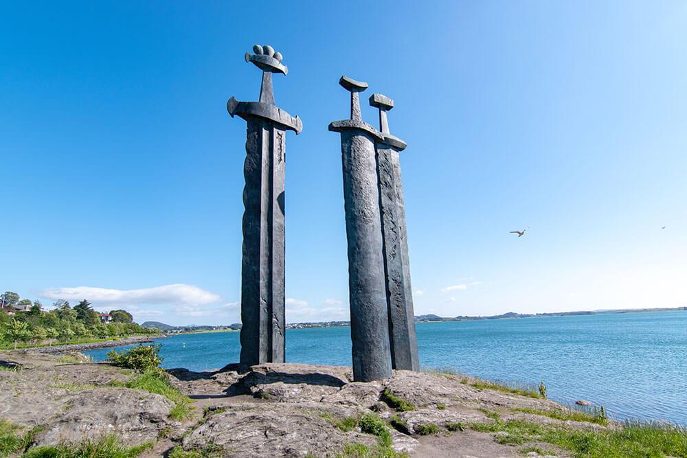 stavanger espadas vikingas