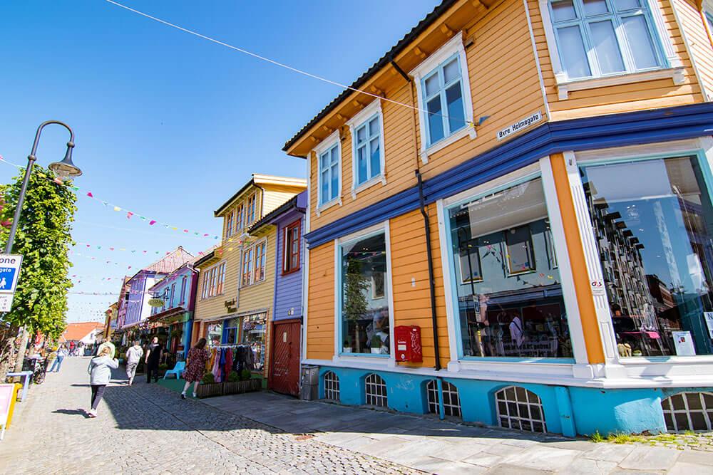 casas de colores stavanger