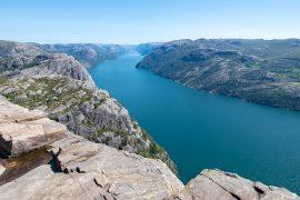 vistas pulpito noruega