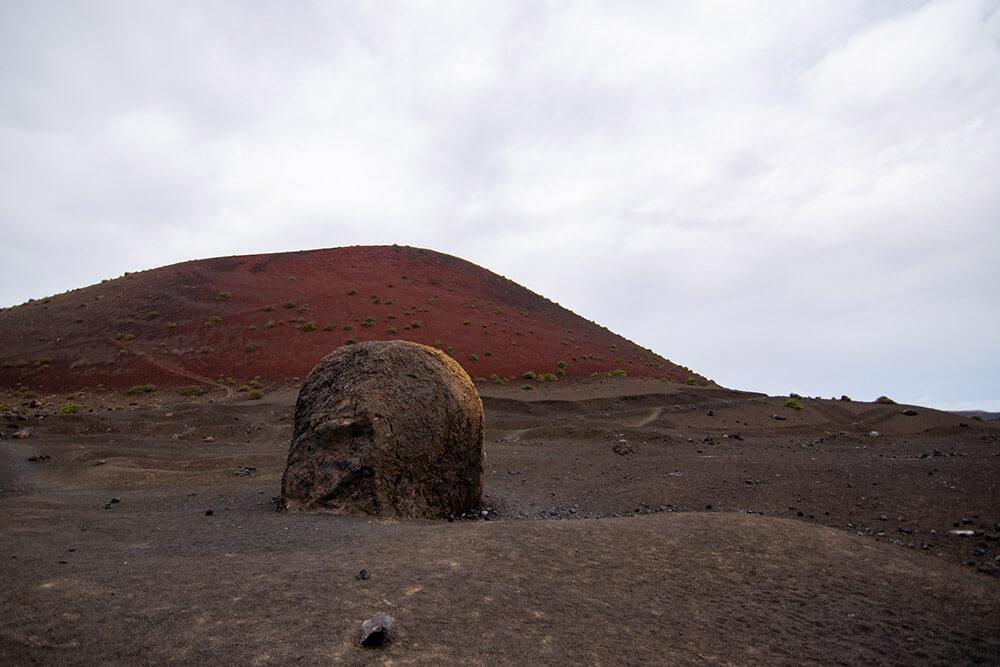 bomba volcánica